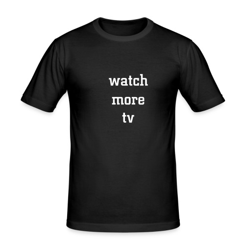 tv - Men's Slim Fit T-Shirt