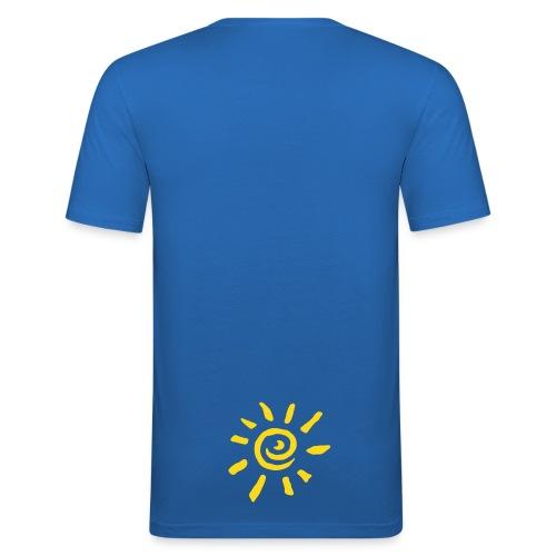 sun/ass - Männer Slim Fit T-Shirt