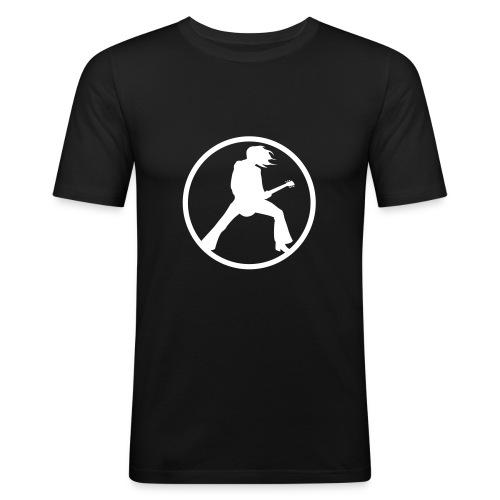 Guitarist - Schwarz - Männer Slim Fit T-Shirt