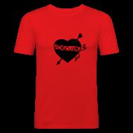 T-Shirts ~ Männer Slim Fit T-Shirt ~ Herz Forever