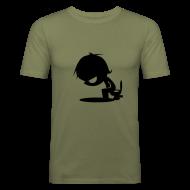 T-Shirts ~ Männer Slim Fit T-Shirt ~ MännekenKlo