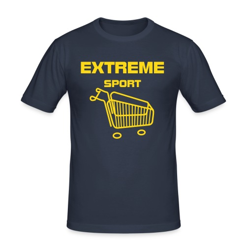 Blue Extreme - Men's Slim Fit T-Shirt