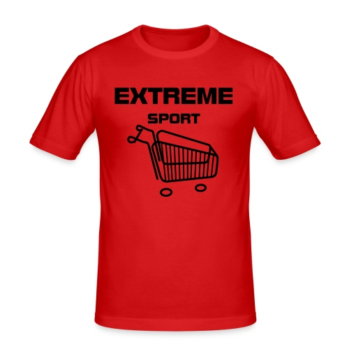 Red Extreme - Men's Slim Fit T-Shirt