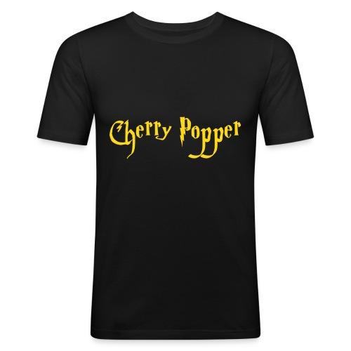 Cherry Popper men's tee - Men's Slim Fit T-Shirt