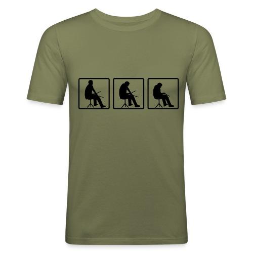 Drummer - Männer Slim Fit T-Shirt