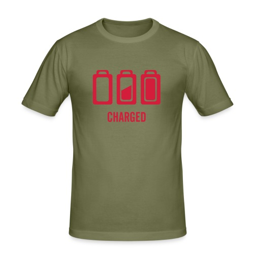 Charged - T-shirt près du corps Homme