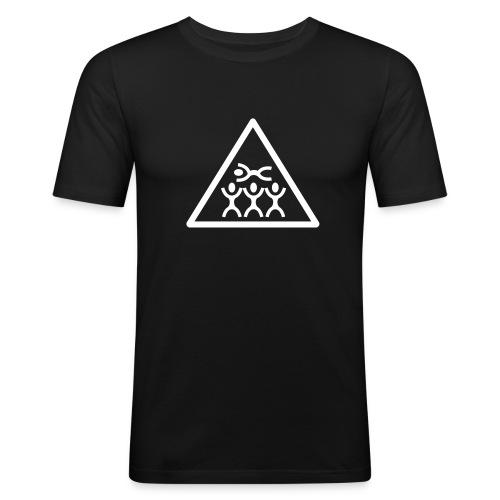 Crowdsurfing - Männer Slim Fit T-Shirt