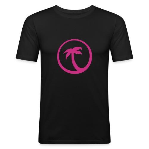 Palm tree - Camiseta ajustada hombre