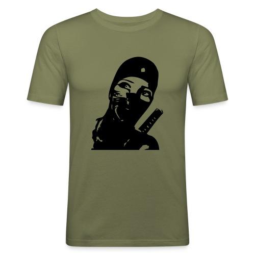 FashionDummy* Female Soldier - Männer Slim Fit T-Shirt