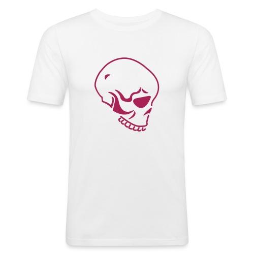 FashionDummy* Skull - Männer Slim Fit T-Shirt