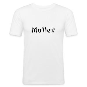 mullet tee - Men's Slim Fit T-Shirt