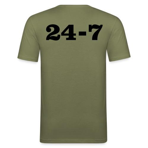 One Way, 24-7 - Men's Slim Fit T-Shirt