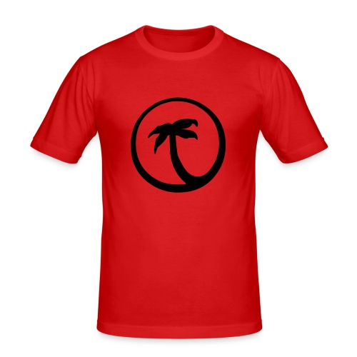 Palm - Men's Slim Fit T-Shirt