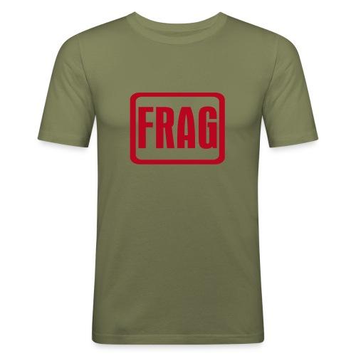 FRAG - Männer Slim Fit T-Shirt