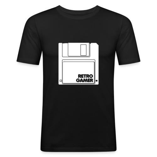 Retro Gamer - Männer Slim Fit T-Shirt