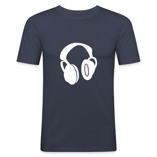 Headphones T - Men's Slim Fit T-Shirt