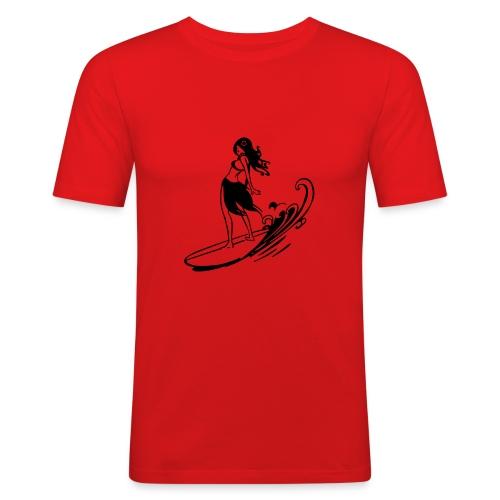 aktion - Männer Slim Fit T-Shirt