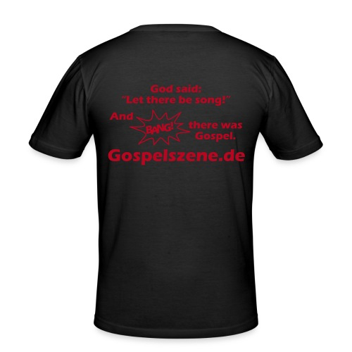 Gospelszene.de - Männer Slim Fit T-Shirt