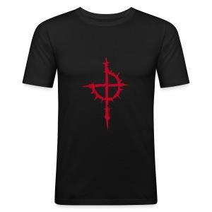 Wiedertäufer-SlimFit - Männer Slim Fit T-Shirt