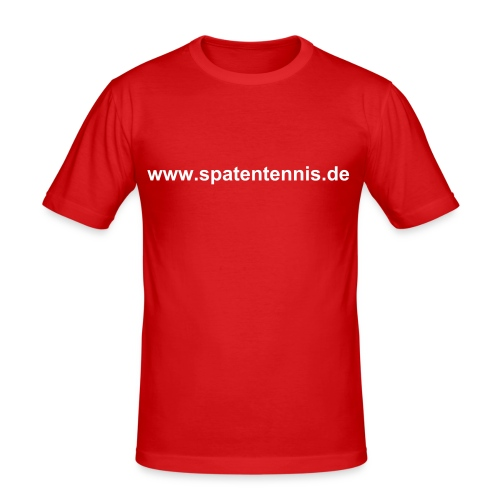 www.spatentennis.de - Männer Slim Fit T-Shirt