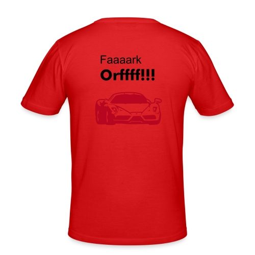 Fark Offt - Men's Slim Fit T-Shirt