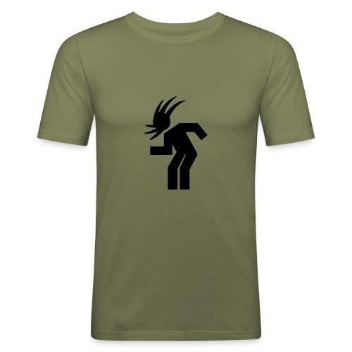 HEADBANGER TEE SHIRT - Men's Slim Fit T-Shirt