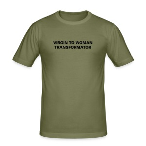 v to w tranformator - Men's Slim Fit T-Shirt