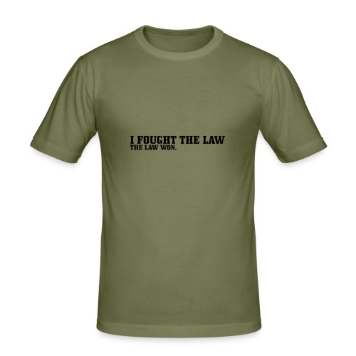 Men's Slim Fit T-Shirt - Round Neck T