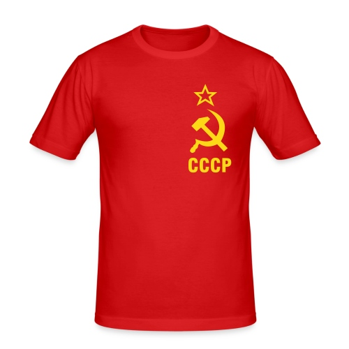 CCCP for the win! - Men's Slim Fit T-Shirt