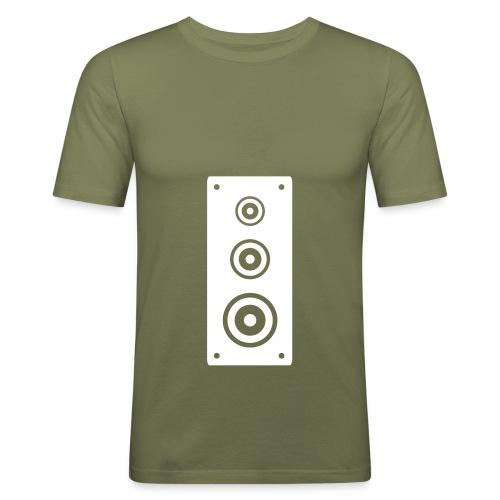 altavoz - Camiseta ajustada hombre