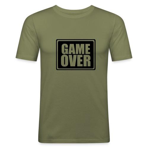 Game Over - Slim Fit T-skjorte for menn