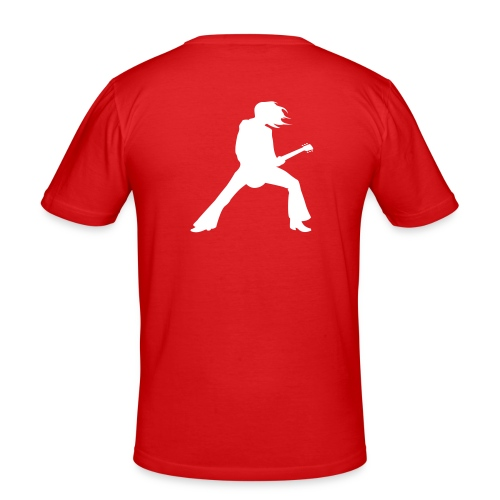 Gitarrengott - Männer Slim Fit T-Shirt