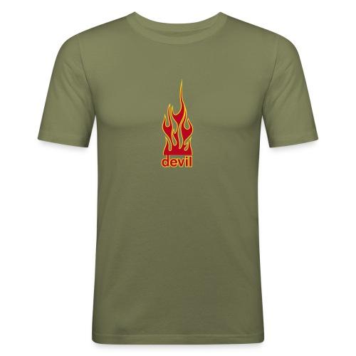 Devil - Slim Fit T-skjorte for menn