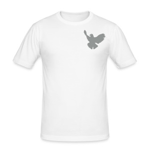 Phoenix Bird fitted tee - Men's Slim Fit T-Shirt