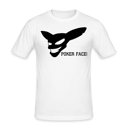 POKER FACE! - Men's Slim Fit T-Shirt