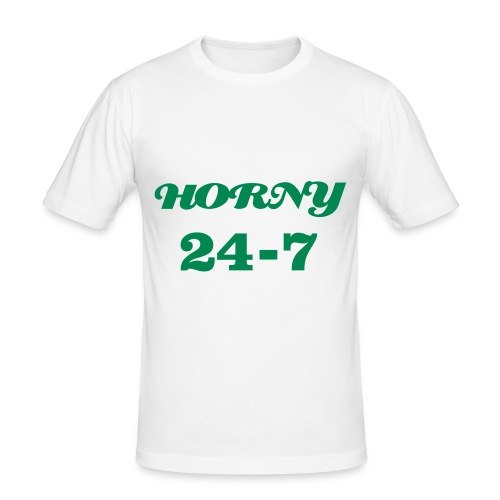 slim fit T-shirt - HORNY 24-7