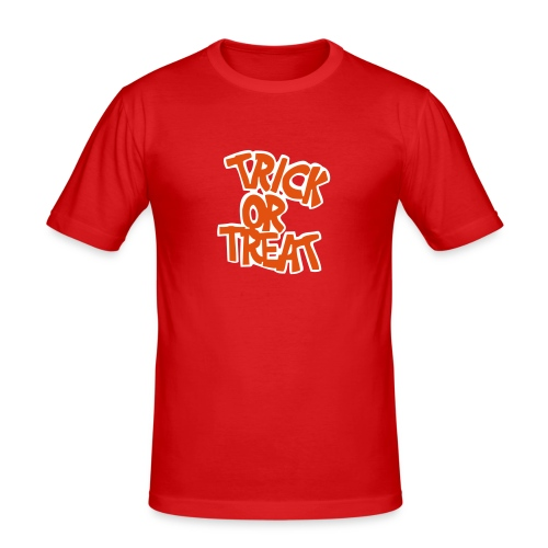 trick or treat - Men's Slim Fit T-Shirt