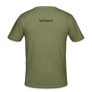 DAD : NOT BEIGE - Men's Slim Fit T-Shirt