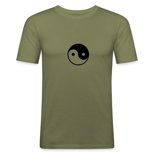 ying yang - T-shirt près du corps Homme