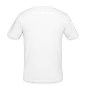 One love VW-Mens White  fitted tee - Men's Slim Fit T-Shirt