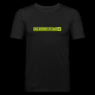 T-Shirts ~ Männer Slim Fit T-Shirt ~ Das Internet Ist Böse