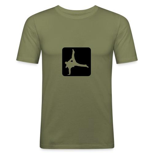 Breakdance shirt - Männer Slim Fit T-Shirt