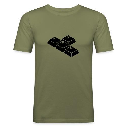 T-Shirt Touches Clavier - T-shirt près du corps Homme