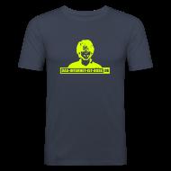 T-Shirts ~ Männer Slim Fit T-Shirt ~ Das Internet Ist Böse -  Bill