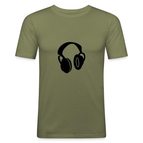 Miesten tyköistuva t-paita - Huom! Pienet koot.  Paita laadukkaista materiaaleista. 100% Puuvillaa