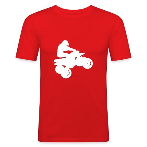 T-shirt quadeur orange - T-shirt près du corps Homme