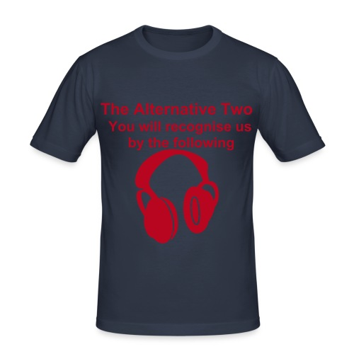 Mens Ta2 Headphones - slim fit T-shirt