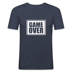 Shirt Game over - Maglietta aderente da uomo