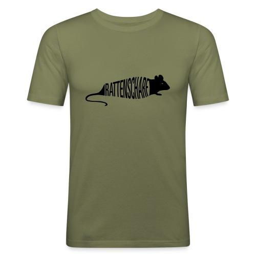 Rattenscharf ASH - Männer Slim Fit T-Shirt