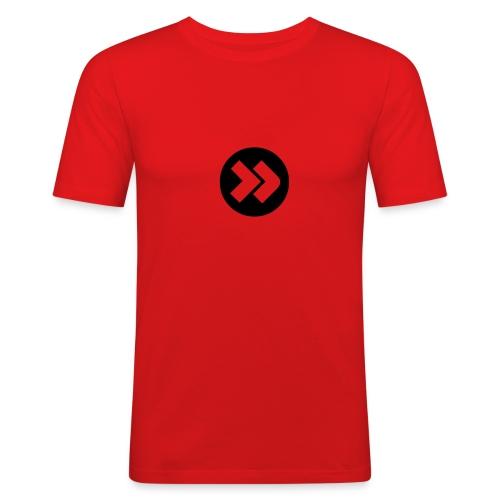 Maglietta freccia - Maglietta aderente da uomo